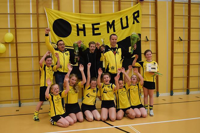 Hemur Enge D1 kampioen!